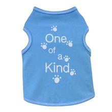One of a Kind Dog Tank - Blue