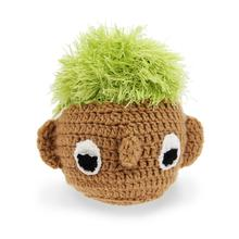 OoMaLoo Handmade Turf Head Dog Toy