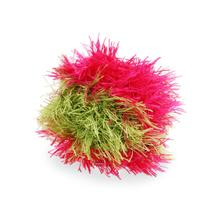 OoMaLoo Handmade Ball Dog Toy - Pink and Green