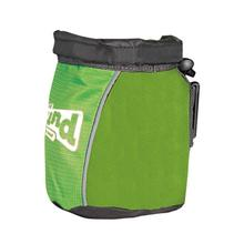 Outward Hound Treat 'N Ball Bag - Green and Black