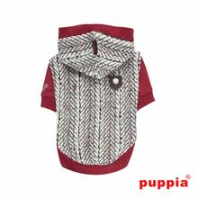 Oz Hooded Dog Shirt by Puppia - Wine