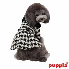 Paige Dog Coat by Puppia - Black