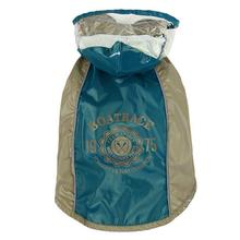 Parisian Pet Boat Race Dog Raincoat - Teal