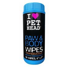 Paw and Body Wipes by Pet Head