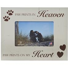 Paw Prints In Heaven Picture Frame by Dog Speak