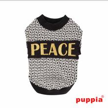 Peacekeeper Dog Shirt by Puppia - Black