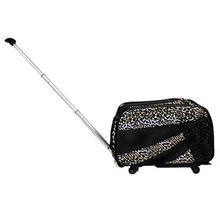 Pet Smart Cart Dog Carrier - Leopard