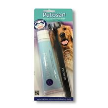 Petosan Dog Dental Kit Brush and Paste