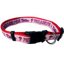 Philadelphia Phillies Officially Licensed Ribbon Dog Collar