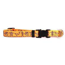 Tribal Seas Dog Collar by Yellow Dog - Orange