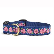 Pink Garden Dog Collar by Up Country