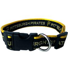 Pittsburgh Pirates Officially Licensed Ribbon Dog Collar