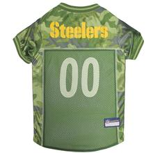 Pittsburgh Steelers Dog Jersey - Camo