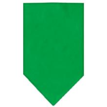 Plain Dog Bandana - Emerald Green