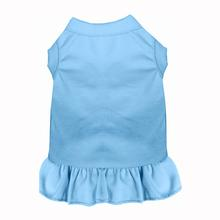 Plain Dog Dress - Baby Blue