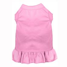 Plain Dog Dress - Light Pink