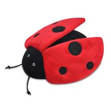P.L.A.Y. Bugging Out Plush Dog Toy - Ladybug