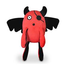 P.L.A.Y. Momo's Monster Dog Toy - Red T-pee