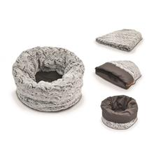 P.L.A.Y. Snuggle Dog Bed - Husky Gray