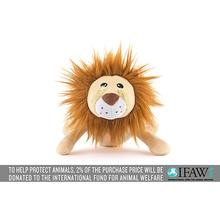 P.L.A.Y. Safari Dog Toy - Leonard the Lion