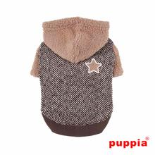 Polaris Dog Hoodie by Puppia - Brown