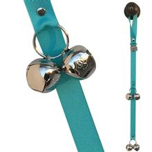 Poochie Bells Dog Doorbell Solid Design - Turquoise