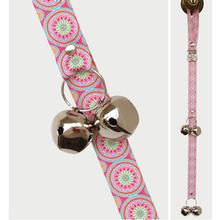Poochie Bells Fashionable Dog Doorbell - Medallion