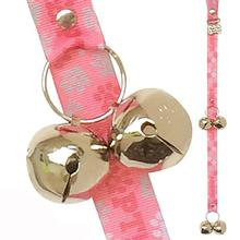 Poochie Bells Saving Spot Dog Doorbell - Pink Paws to Adopt