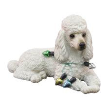 Poodle Christmas Ornament