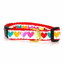 Pop Hearts Cat Collar by Up Country