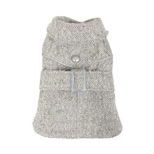 Popette Dog Coat by Puppia - Gray