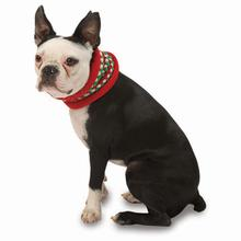 Popper's Dog Neck Warmer - Holiday Red