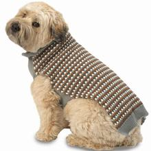 Popper's Dog Sweater - Gray Multi