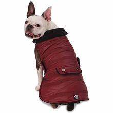 Portland Dog Parka - Cranberry