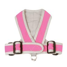Precision-Fit Nylon Dog Harness - Hot Pink