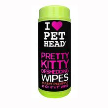 Pretty Kitty Deshedding Cat Wipes by Pet Head