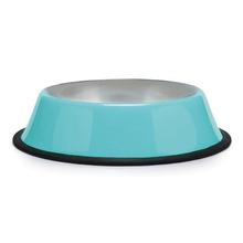 Proselect Anti-Skid Dog Bowl - Caribbean Blue