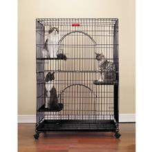 ProSelect Foldable Cat Cage - Black