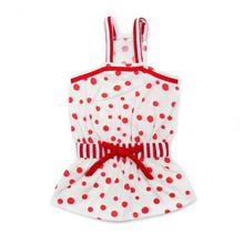 PuppyPAWer Bubble Dog Sun Dress by Dogo - Red