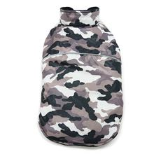 PuppyPAWer Camo Sports Dog Coat by Dogo - Gray