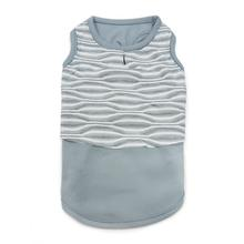 PuppyPAWer Geometric Dog Tank Top by Dogo - Gray