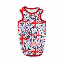 PuppyPAWer Union Jack Dog Tank by Dogo