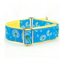 Pusteblume Satin Lined Martingale Dog Collar