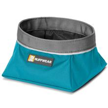 Quencher Travel Dog Bowl by RuffWear - Pacific Blue
