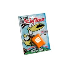 Quiet Spot Pet Tag Silencer - Safety Orange