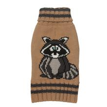 Raccoon Turtleneck Dog Sweater