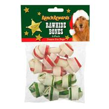 Ranch Rewards Holiday Rawhide Dog Bones
