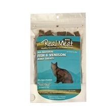Real Meat Fish & Venison Jerkey Cat Treats
