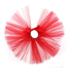 Red Tulle Dog Tutu by Pawpatu