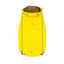 Reversible Elasto-Fit Dog Raincoat - Yellow